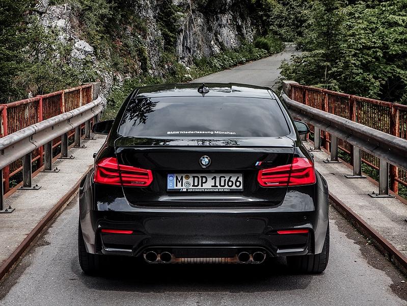 Heckansicht BMW M3