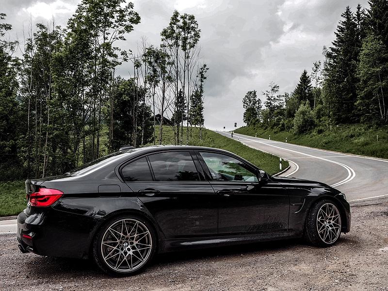 Bayrischzell mit dem BMW M3