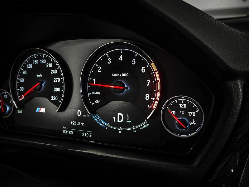 Tacho und Drehzahlmesser BMW M3