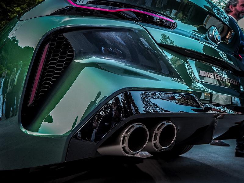 Concorso d'Eleganza Villa d'Este BMW M8 Gran Coupé