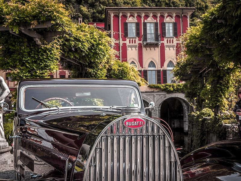 Bugatti beim Concorso d'Eleganza Villa d'Este
