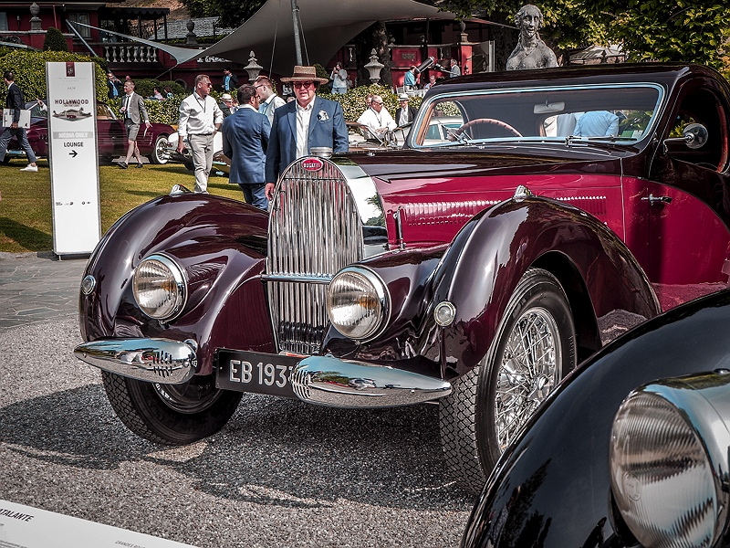 Concorso d'Eleganza Villa d'Este Bugatti