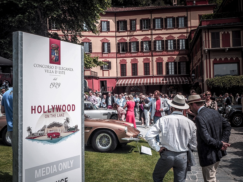 Concorso d'Eleganza Villa d'Este Hollywood on the lake