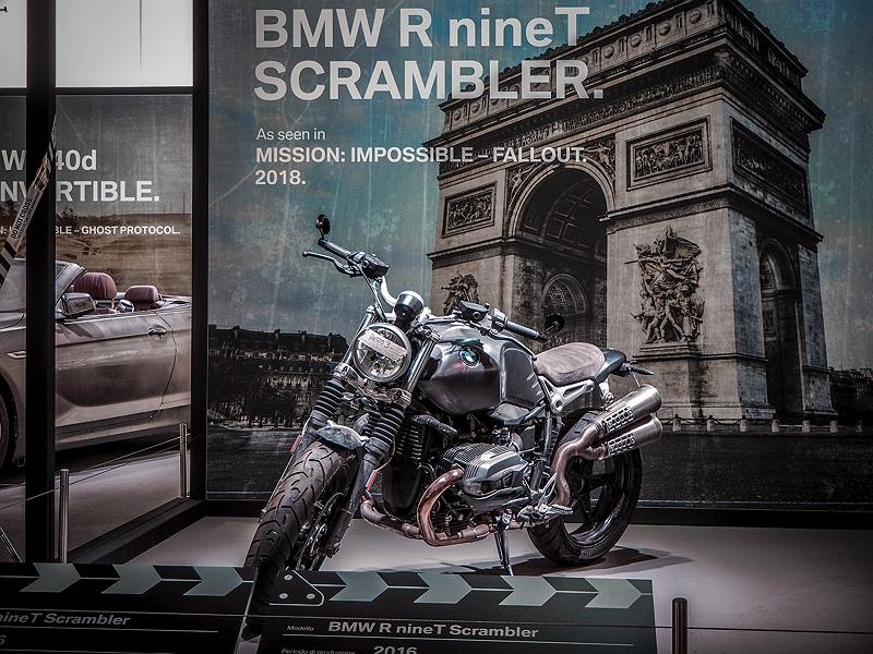 Concorso d'Eleganza Villa d'Este BMW R nineT Scrambler