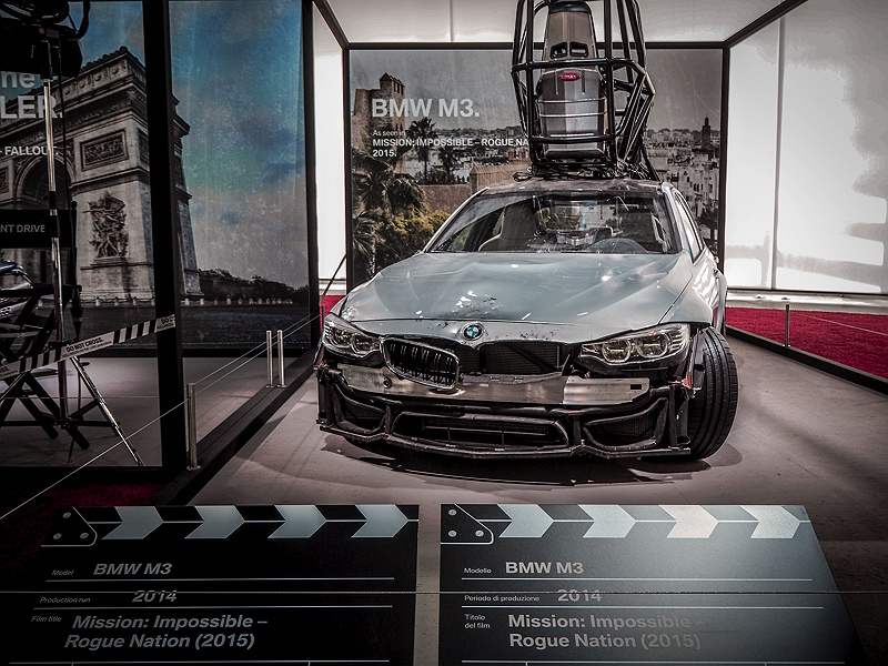 Concorso d'Eleganza Mission Impossible BMW M3