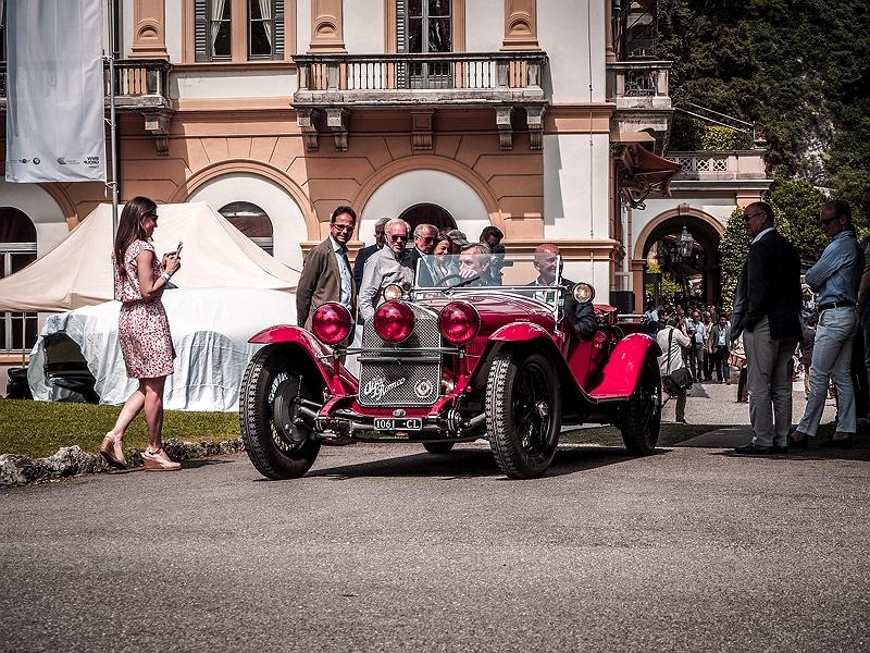Der Concorso d'Eleganza Villa d'Este mit Alfa Romeo