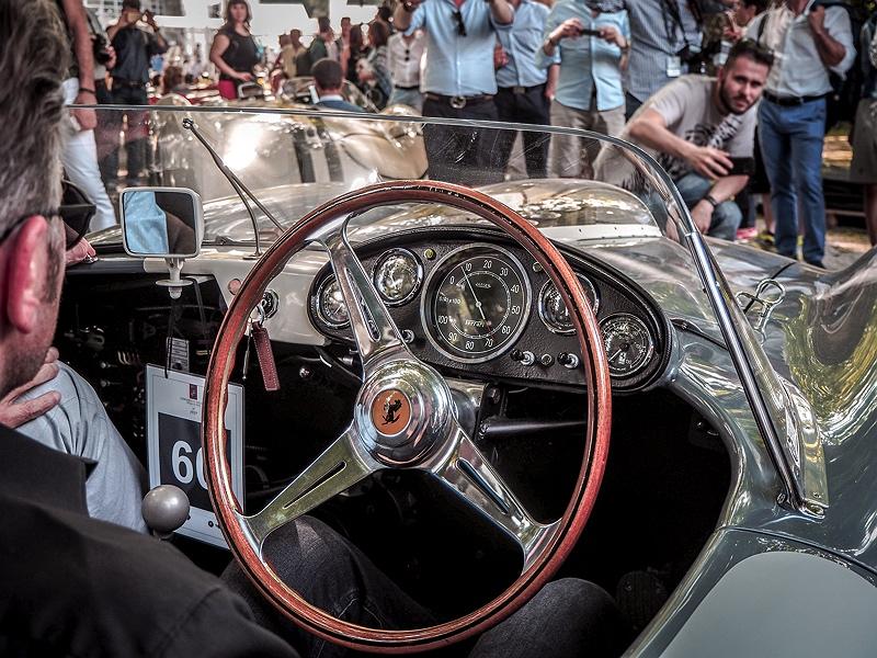 Concorso d'Eleganza Villa d'Este Ferrari Cockpit