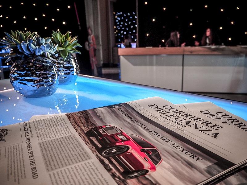 Concorso d'Eleganza Villa d'Este BMW Presselounge