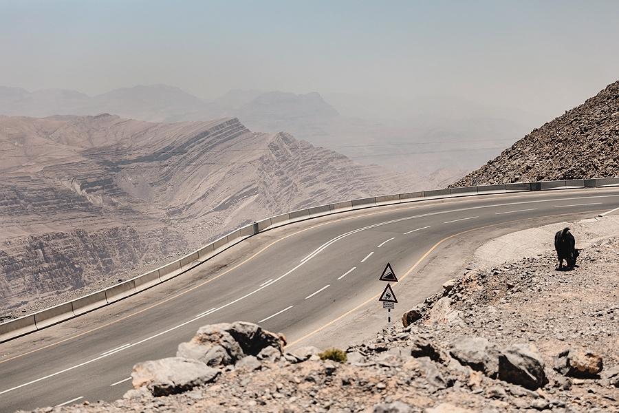 Jebel Jais Mountains