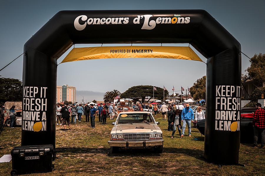 Monterey Car Week Concours d'Lemons