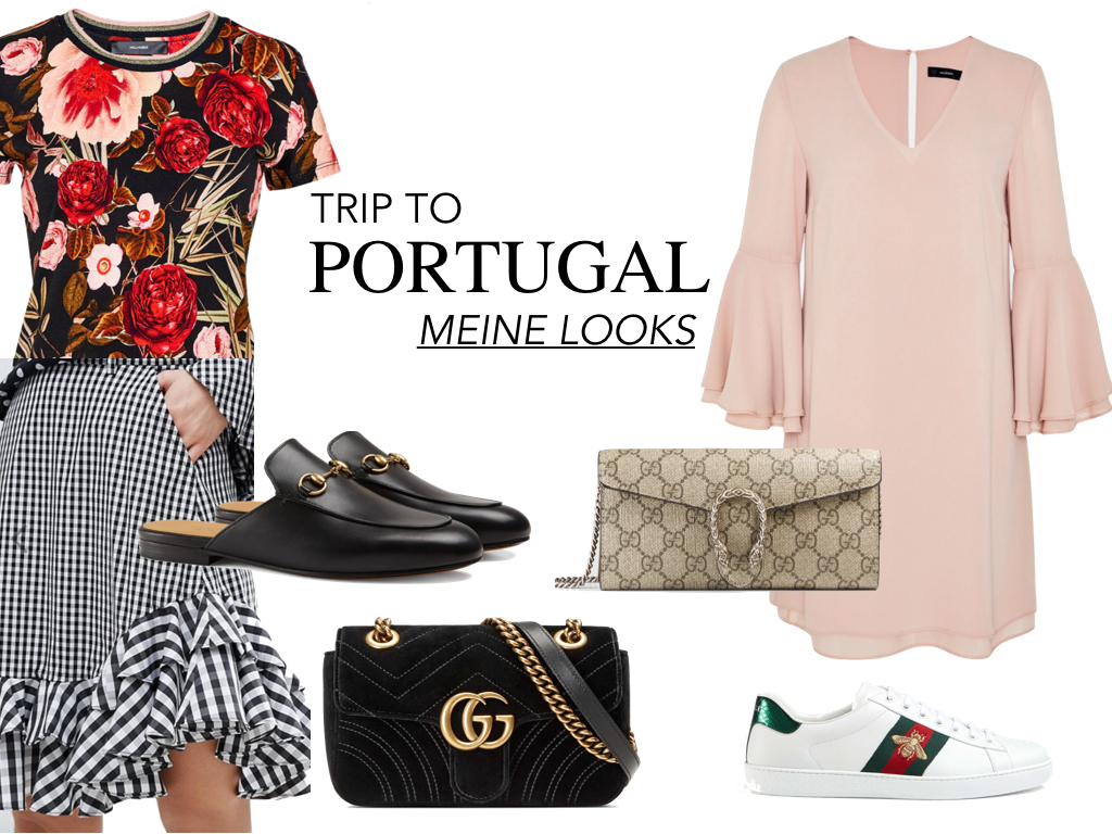 Meine Looks für den Trip nach Portugal Fashion Outfit Jenni Jennireist Travel Travellook Zara Adidas Stan Smith AddidasOriginals Gucci Jeans Denim LouisVuitton Neverful Levis 501 Blumenprint GucciAce Sneakers Boss HugoBoss Louboutin ChristianLouboutin Pigalle Princetown