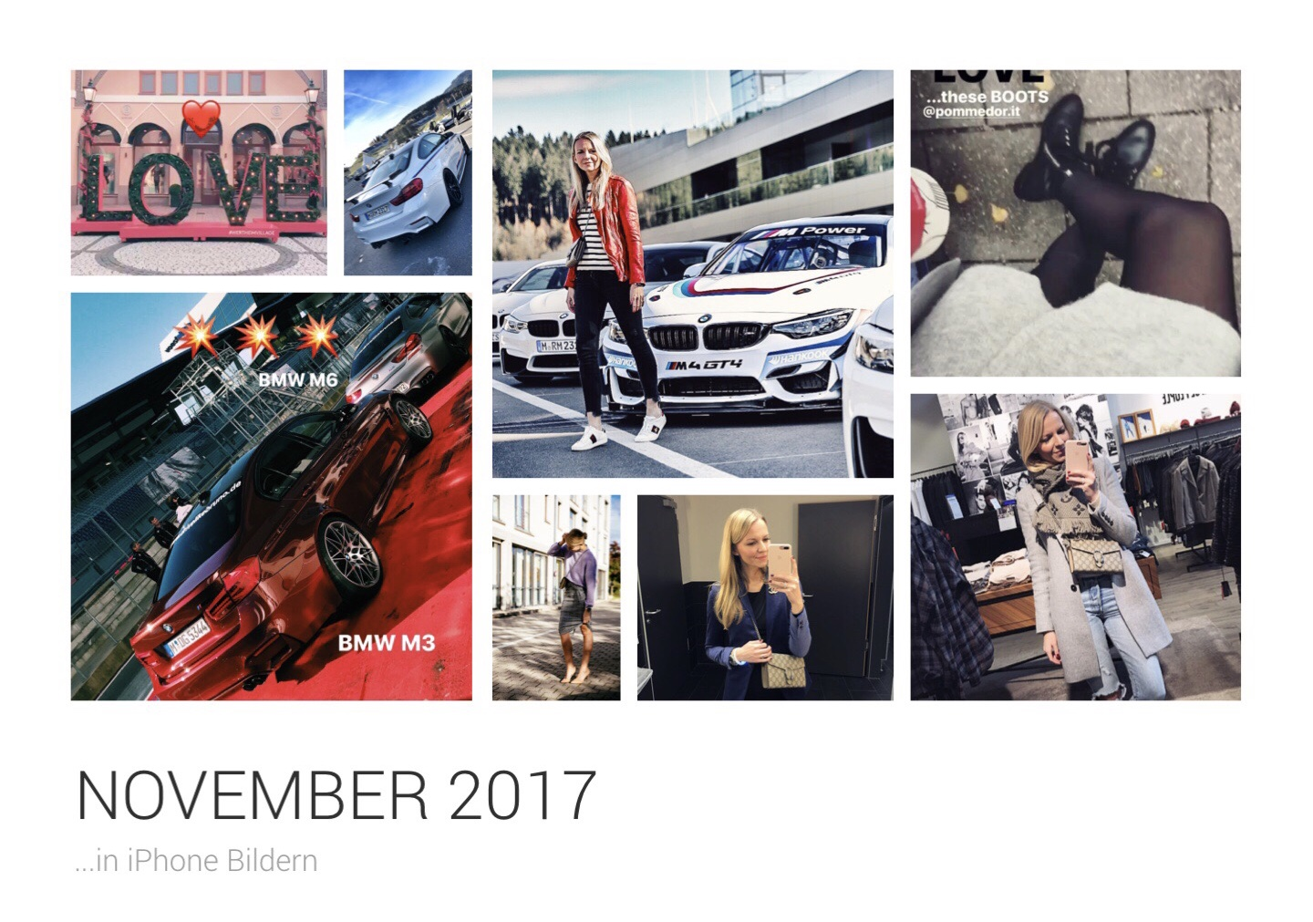 Monatsrückblick November 2017 BMW BMW i3 Dezember Drive Like Bruno Fashionette Fendi Melvin & Hamilton Monatsrückblick November Shopping Spielberg Wochenrückblick Automobile Bags Cars Fashion Herbst Jennifer Lifestyle Mode Reisen Travel BMWWelt