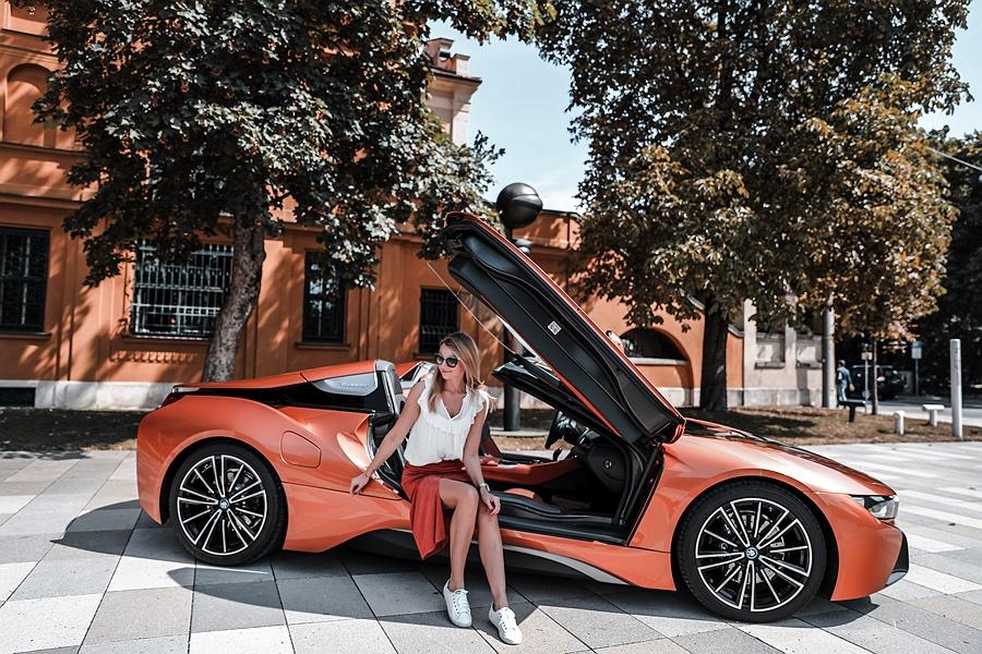 BMW i8 Cabrio Probefahrt
