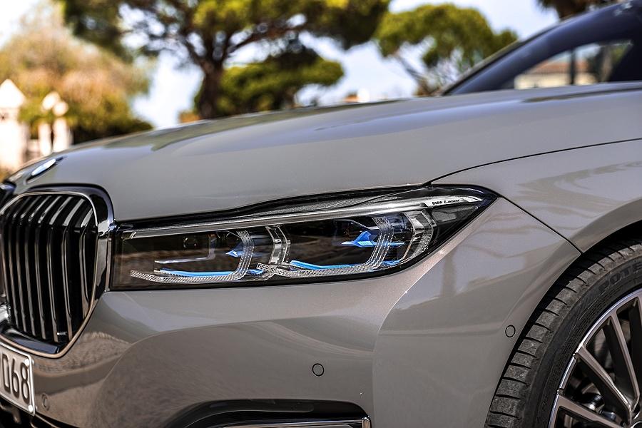 BMW 7er Facelift 2019 Laserlicht