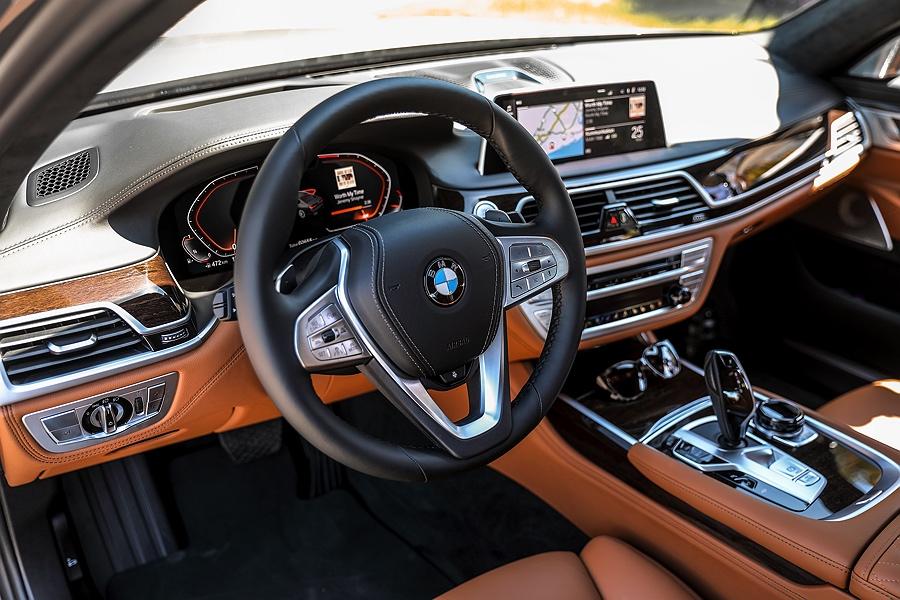 BMW 7er Facelift 2019 Innenraum