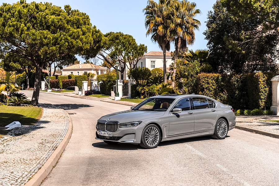 BMW 7er Facelift 2019 Niere