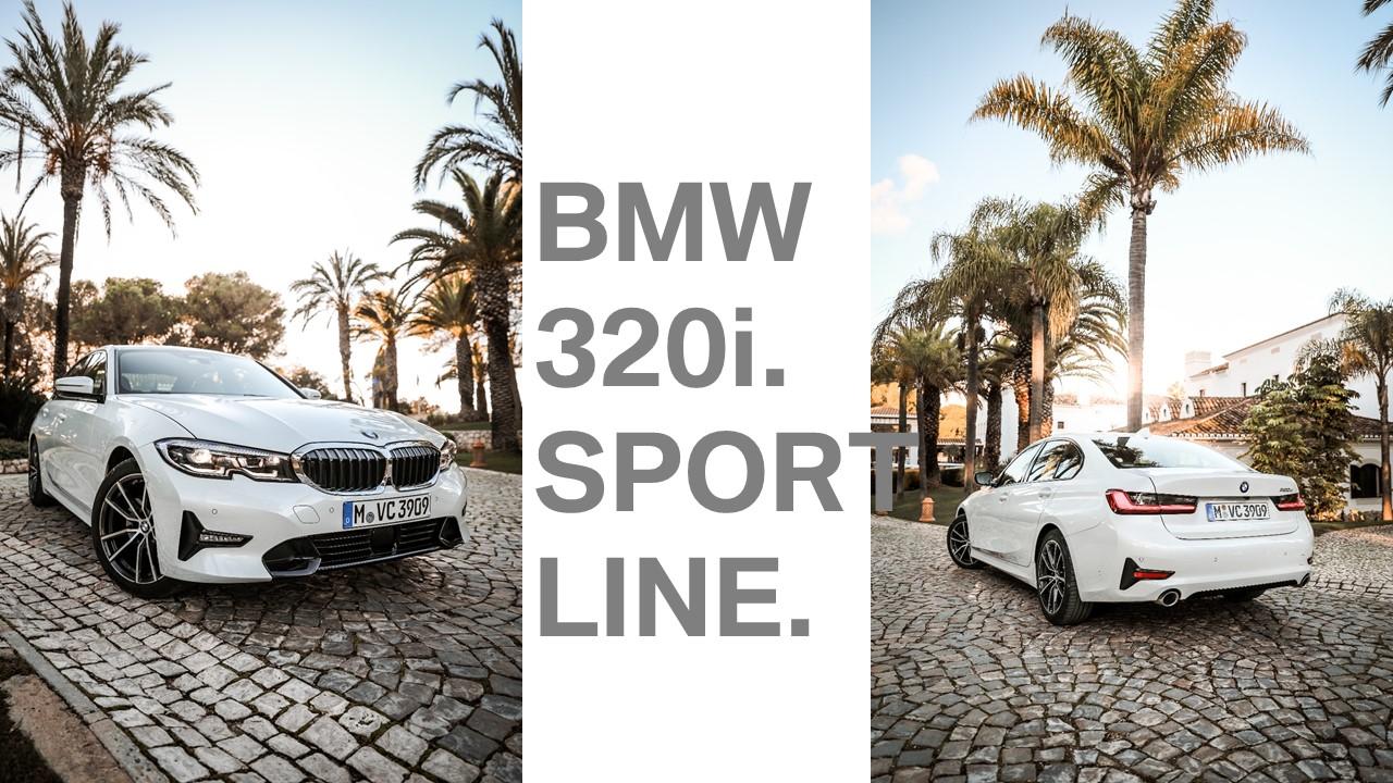 BMW-3er-Weiß-Sport-Line