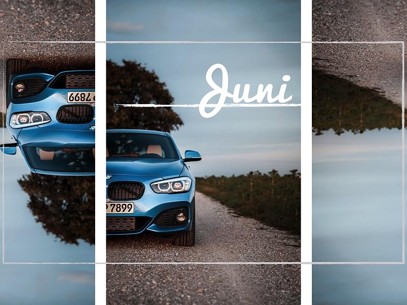 BMW 1er Estorilblau