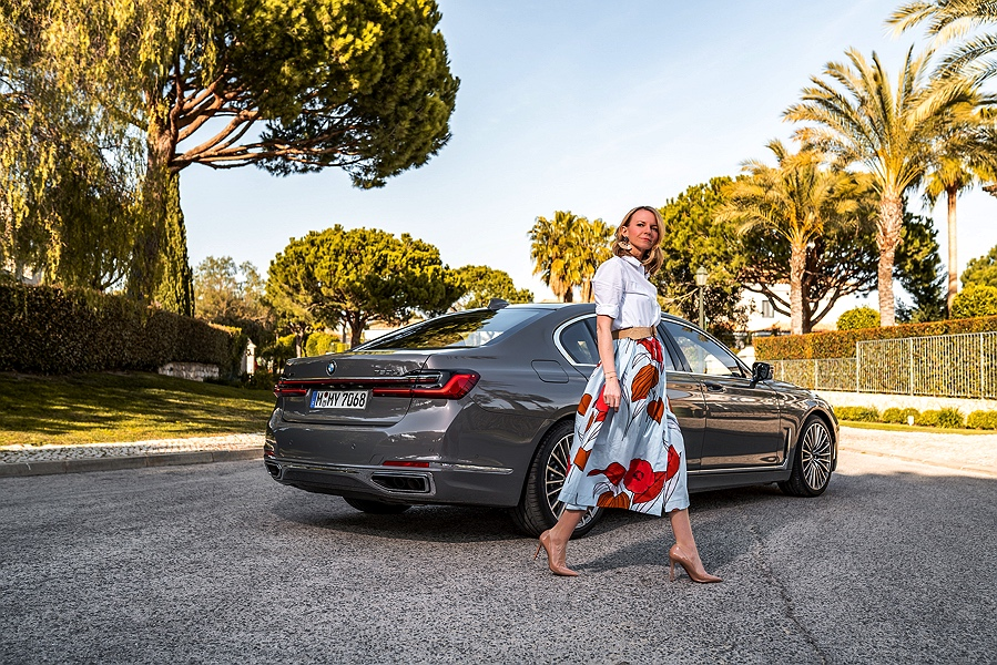 BMW 7er Facelift 2019 Heckpartie